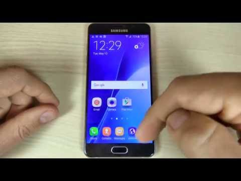 Samsung Galaxy A3, A5, A7 (2016) - How to Add or Remove an Google Account