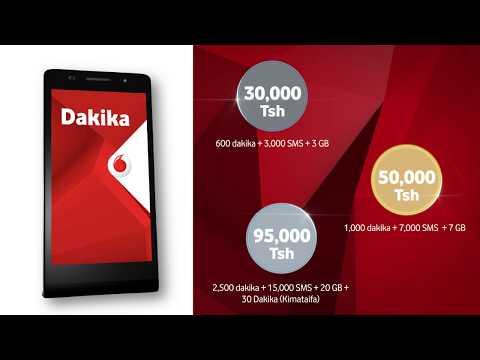 Vifurushi vya RED vya Vodacom