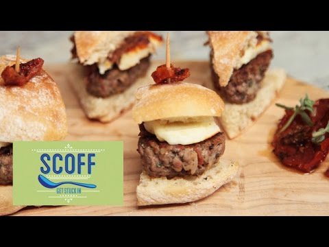 Olivia's Sun Dried Tomato Burgers | Friday Food Off Series 1 Part 1