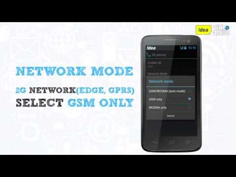 How to Select 2G/3G Network on Your Mobile