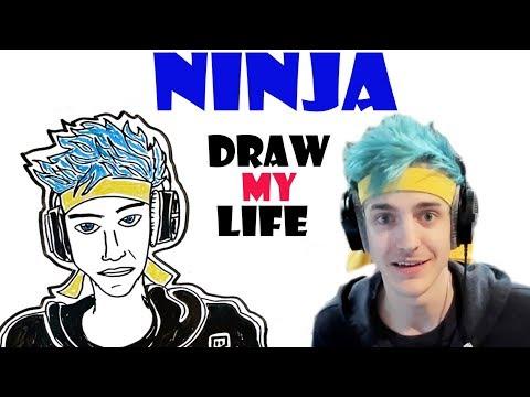 Draw My Life : Ninja