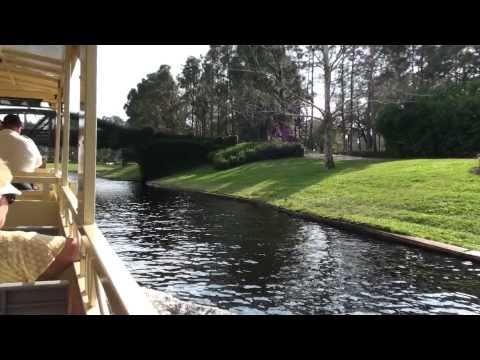 Port Orleans Riverside/French Quarter Resort Boatride to Downtown Disney