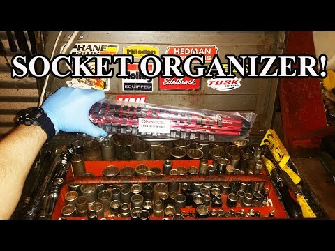 Find sockets quickly! Olsa tools socket organizer review