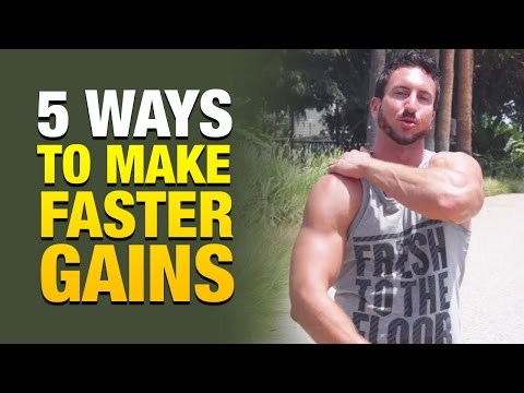 5 Reasons Why You're Not Building Muscle Fast Enough And How To Make Faster Gains