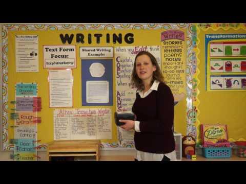 Interactive Bulletin Board: Facilitating Independent Access to Writing Strategies (Virtual Tour)