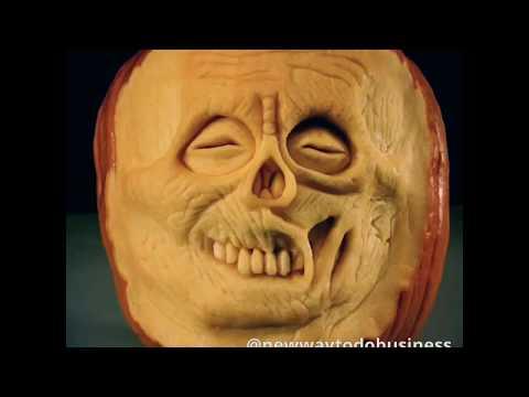 Paulo Machado 3D Pumpkin Carving - My Life