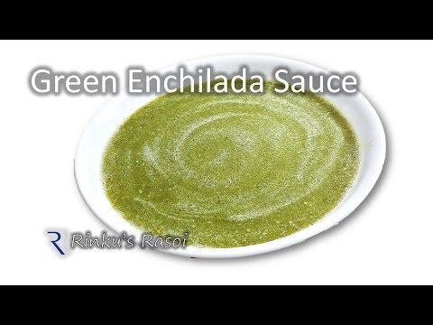 Homemade Green Enchilada Sauce | Easy Mexican Verde Sauce Recipe | RinkusRasoi
