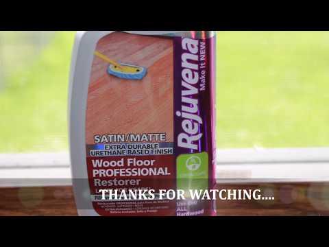 Rejuvenate wood floor restorer ( works very good)