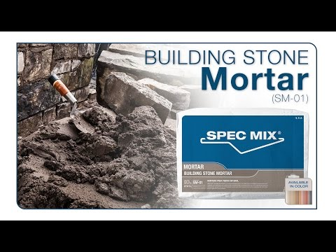 SPEC MIX® Building Stone Mortar