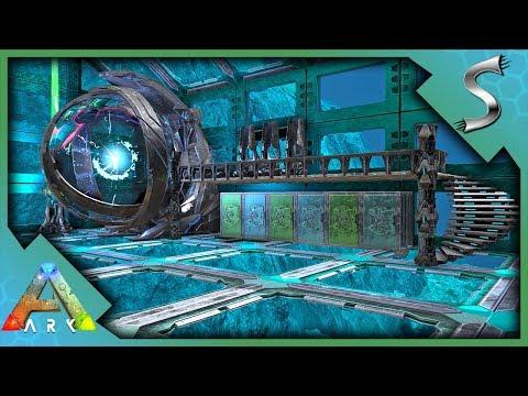 BUILDING THE UNDERWATER TEK BASE! THE DEEP SEA WORKSHOP BEGINS! - Ark: Survival Evolved [S4E132]