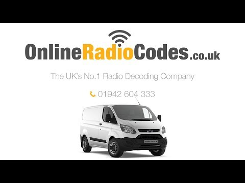 🚗 Ford Transit Radio Code Unlock Your Stereo With The Serial