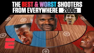 The best and worst NBA shooters of the 2000s from everywhere on the floor   NBA on ESPN