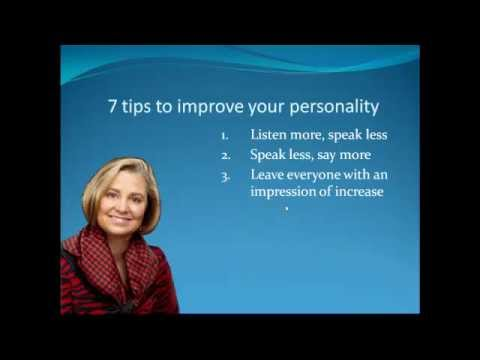 7 tips on how to improve personality