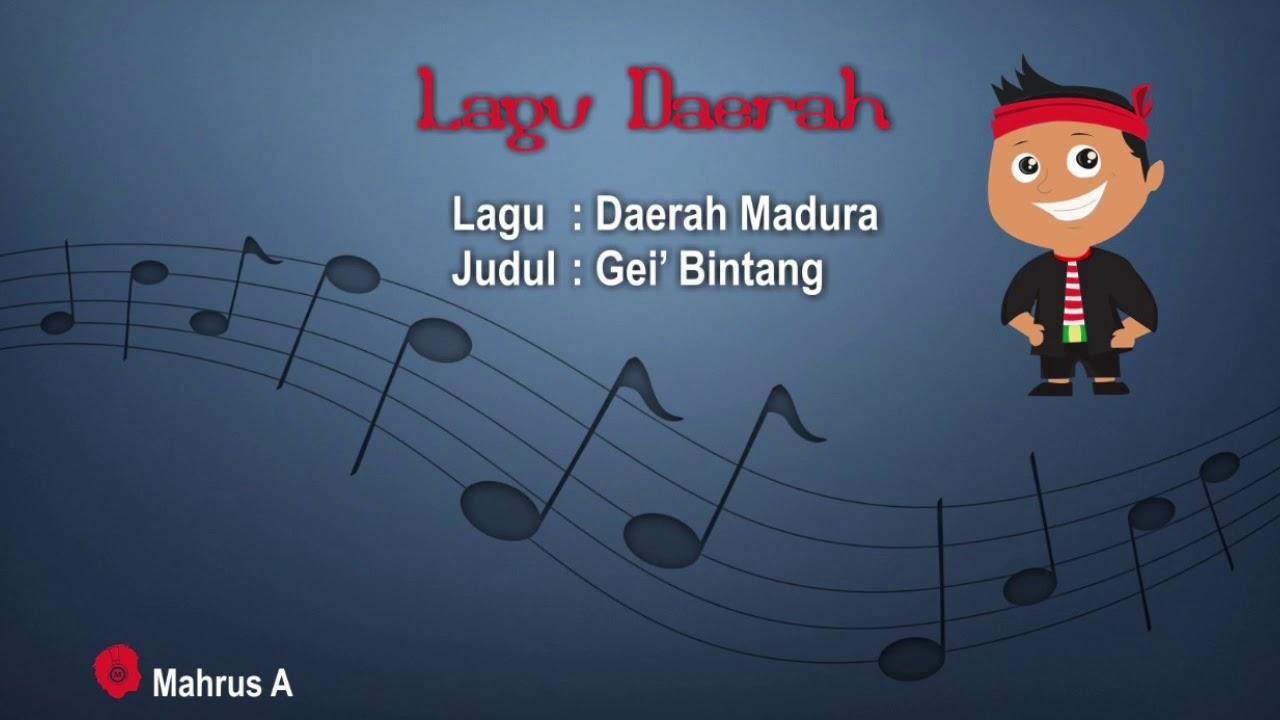 Gei' Bintang | Lagu Daerah Madura Jawa Timur versi Original
