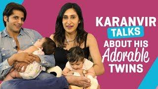 Karanvir Bohra talks about his adorable twins   TV Interview   Pinkvilla