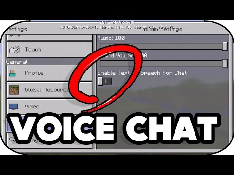 minecraft pe Voice Chat Hidden Feature in 0.17.0 For Multiplayer | how to voice chat in minecraft pe