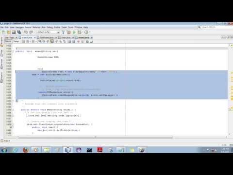 Music Player using java netbeans mp4   YouTube