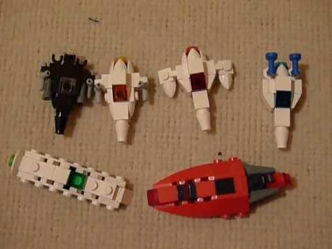Lego Micro Space Ships