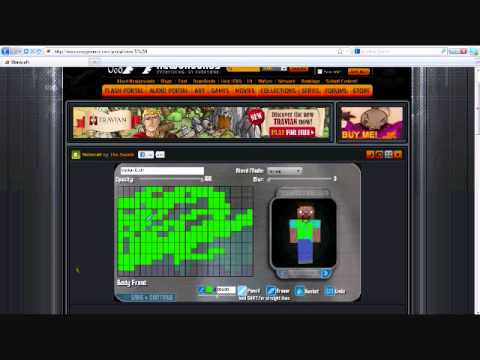How to make a minecraft skin 1.8.1 cracked!!!!!
