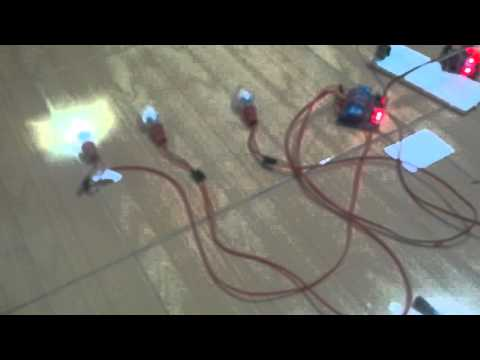 Home Controler Demo - Turn on/off electric devices by bluetooth (speak/touch to control)