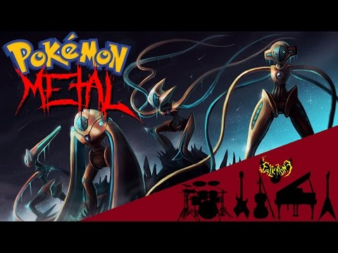 Pokemon ORAS - Battle! Deoxys 【Intense Symphonic Metal Cover】