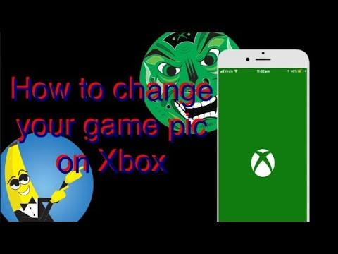 How to change your Xbox gamepic on iPhone (2017)