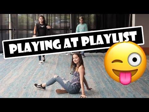 Playing at Playlist 😜 (WK 382.5)   Bratayley