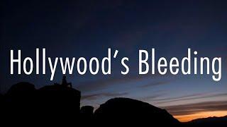 Post Malone - Hollywood's Bleeding (Lyrics)