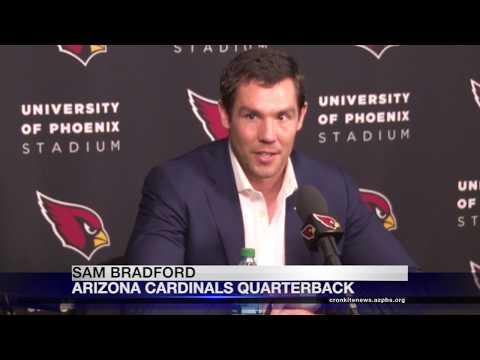 Cardinals introduce new QB Bradford