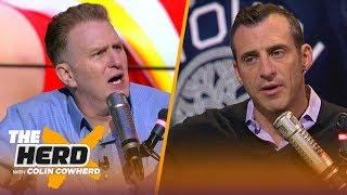 Eli Manning belongs in Hall of Fame, Mahomes is the face of NFL, talks Knicks — Rapaport | THE HERD