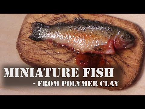 Realistic Miniature Fish - Polymer Clay Tutorial