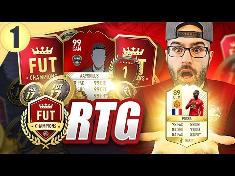 COIN MAKING FOR FUT CHAMPIONS! - ROAD TO FUT CHAMPIONS! FIFA 17 #01
