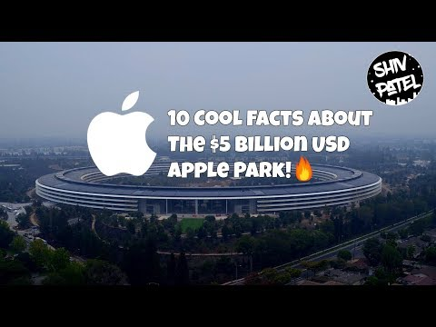 10 Cool Facts About The $5 Billion USD Apple Park!🔥