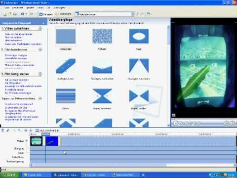 How to generate a Blue Screen Effect with Windows Movie Maker