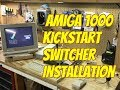 Amiga 1000:  Kickstart Switcher Installation