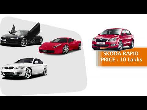 Car brands and prices in india