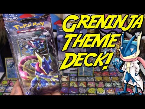 Pokemon Cards - Greninja BreakPoint Wave Slasher Theme Deck Opening and Review!