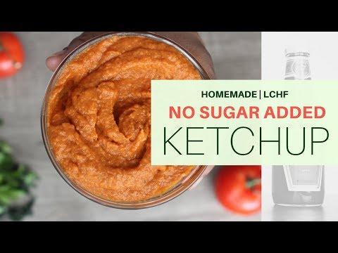 Homemade Ketchup   NO SUGAR ADDED   1 NET CARB PER SERVING   #LOWCARB   #GFCF   #DAIRYFREE   #KETO