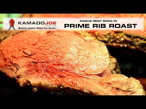 Kamado Joe Bone-In Prime Rib Roast