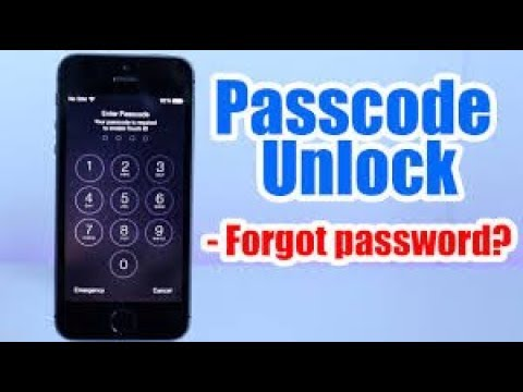 how to unlock a iphone 6 that is disabled
