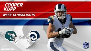 Cooper Kupp Leads LA Receivers vs. Philly w/ 118 Yards! | Eagles vs. Rams | Wk 14 Player Highlights
