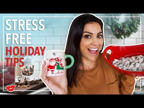 Tips for a Stress Free Holiday Season! | Kimberly from Millennial Moms