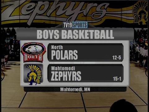 Boys Basketball - Mahtomedi vs North - 2/3/17