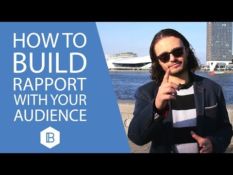 Look & Pause: How to Build Rapport with your Audience