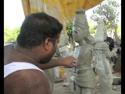 Concrete Sculptures in Tamil Nadu