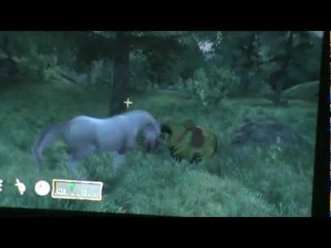 Oblivion - Shadowmere vs the unicorn