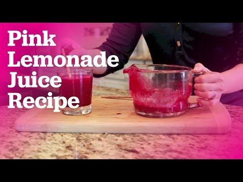 Pink Lemonade Juice Recipe   All About Juicing