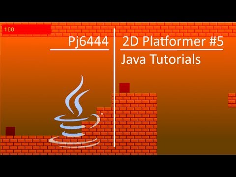 Java 2D Platformer Tutorial #5 - Level1State / Player