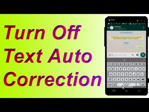 How to Turn Off Autocorrect on Samsung   How to Disable Autocorrect on Android