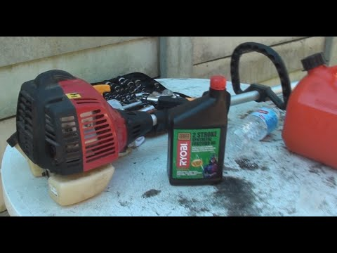 How to Mix Petrol Oil for 2 Stroke Engine Whipper Snipper / Weed Whacker